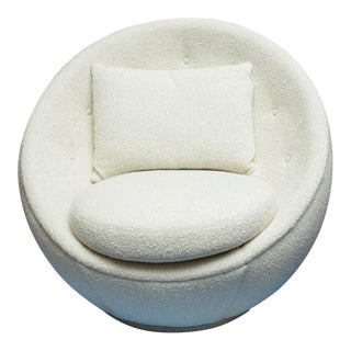 """1960s The 'Good"""" Egg Chair by Milo Baughman For Sale"""