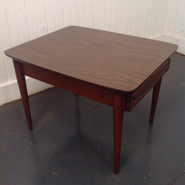 Mid-Century Modern Kroehler Mid-Century Side Table For Sale - Image 3 of 5