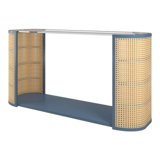 Lola Console Table - Newburyport Blue For Sale