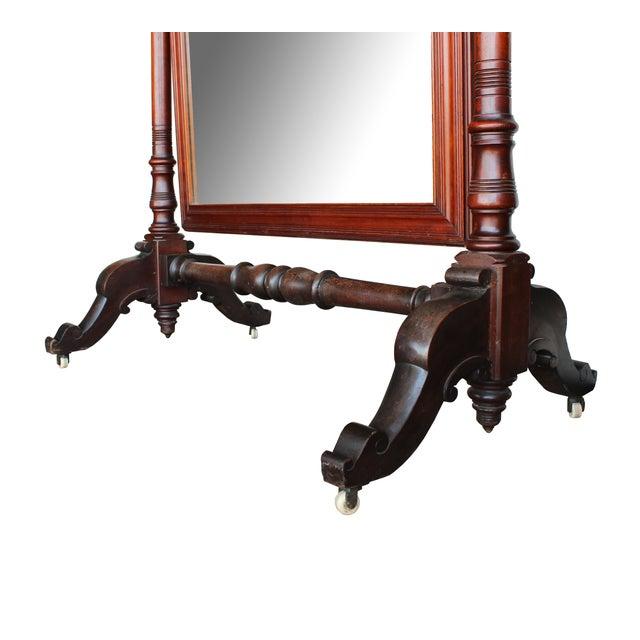 Antique Freestanding Dressing Mirror - Image 4 of 5