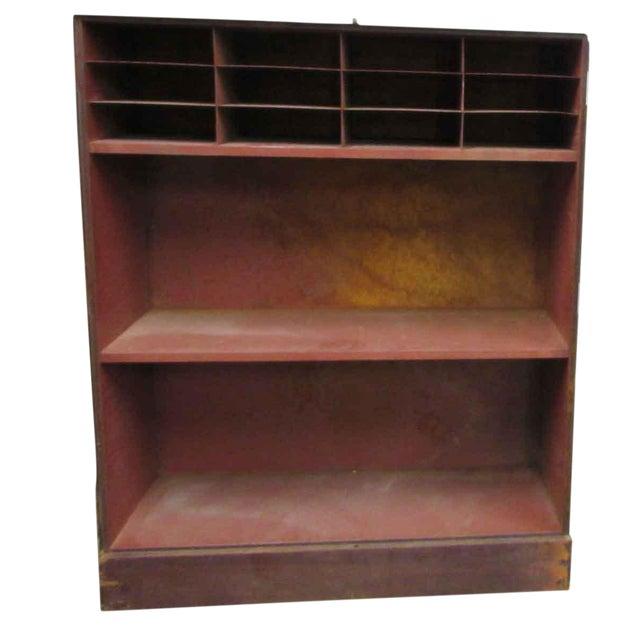 Wood & Metal Cabinet - Image 1 of 9