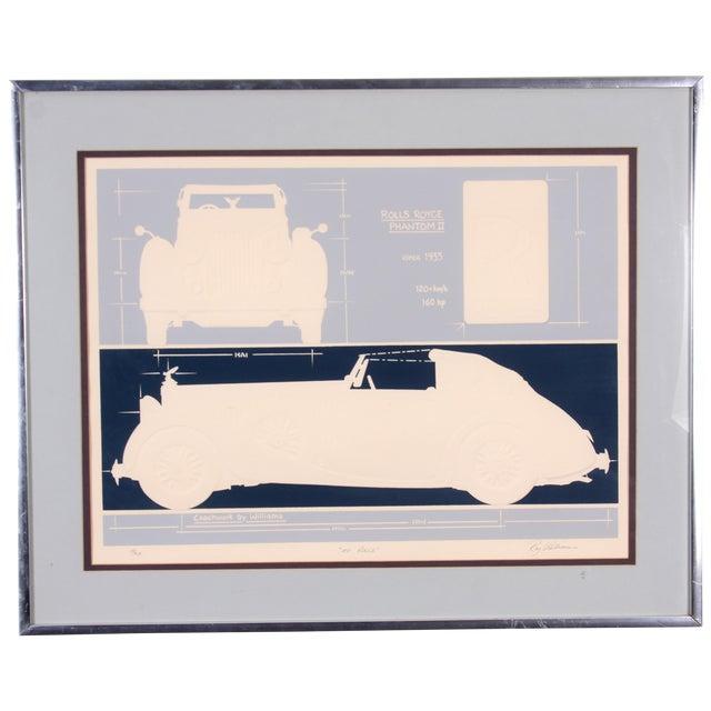 Rolls Royce Phantom Lithograph - Image 1 of 9