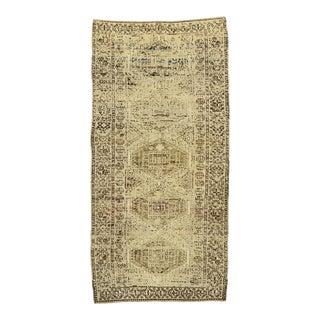 Vintage Persian Shiraz Rug, 04'00 X 08'00 For Sale
