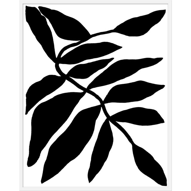 """Large """"Falling Vine"""" Print by Kate Roebuck, 36"""" X 45"""" For Sale"""
