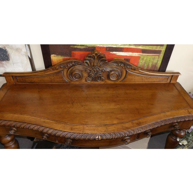 1990s Ralph Lauren British Colonial Sideboard or Server For Sale - Image 5 of 12