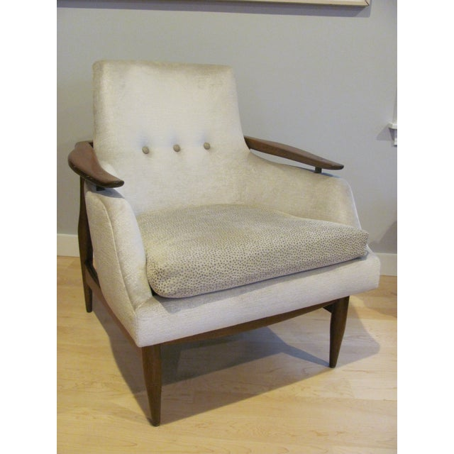 Vintage Mid Century Finn Juhl Style Lounge Chair For Sale - Image 13 of 13