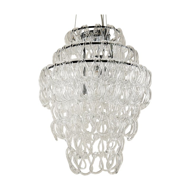 Giogali Style Blown Glass Chandelier - Image 1 of 5