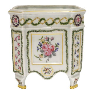 "Haviland Limoges ""Louveciennes"" Cache Pot For Sale"