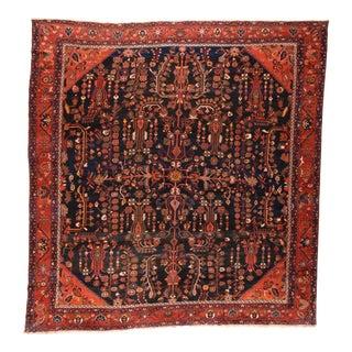 Hand Knotted Persian Bakhtiyari Wool Rug For Sale