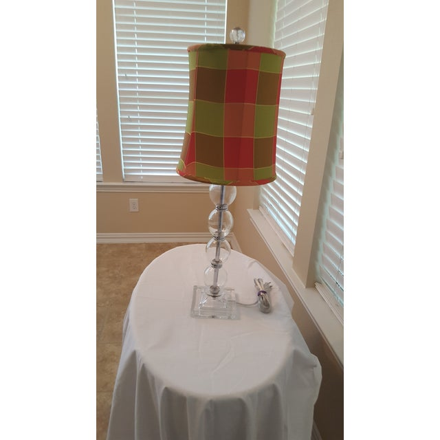 Contemporary Glass Table Lamp - Image 4 of 5