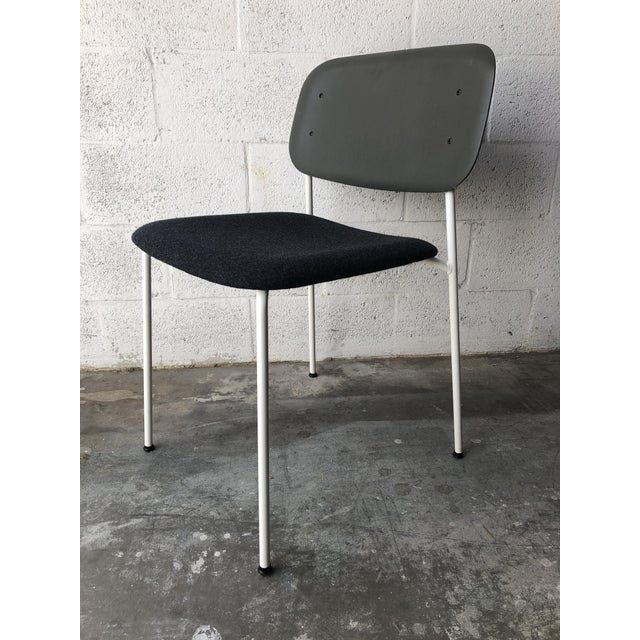 2010s Preowned Hay Iskos-Berlin's Soft Edge Stackable Chairs -Set of Four For Sale - Image 5 of 13