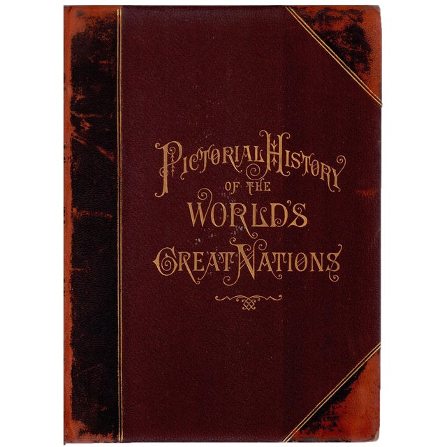 Pictorial History of the World's Nations by Charlotte M. Yonge - Image 1 of 5