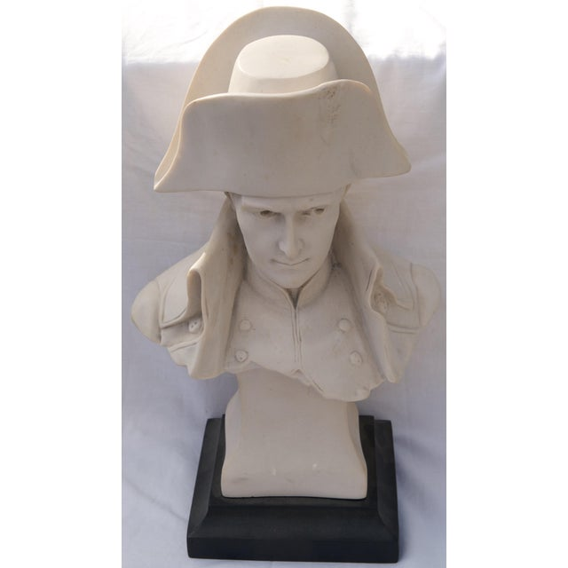 Figurative Antique Parian Bust of Napoleon Bonaparte For Sale - Image 3 of 13