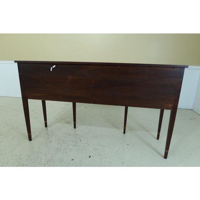 Stickley Federal Style Inlaid Mahogany Sideboard For Sale - Image 11 of 13