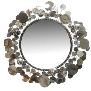 "C. Jeré ""Raindrops"" Wall Mirror - 50th Anniversary Sale For Sale"