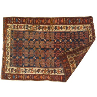 1920s Antique Persian Rug-4′4″ × 6′5″ For Sale