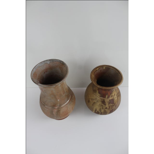 Evan Jon Designer Studio Art Pottery - Pair For Sale - Image 4 of 9