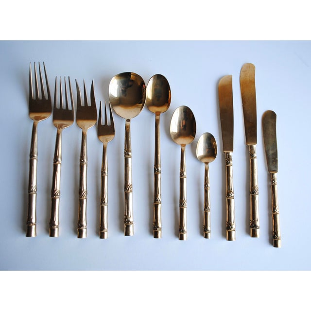 Mid-Century Bronze Flatware Set, 142 Pieces (Service for 12) - Image 2 of 8