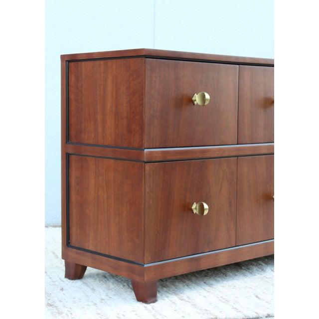 Herman Miller Gilbert Rohde For Herman Miller Paldao Wood Dresser For Sale - Image 4 of 11