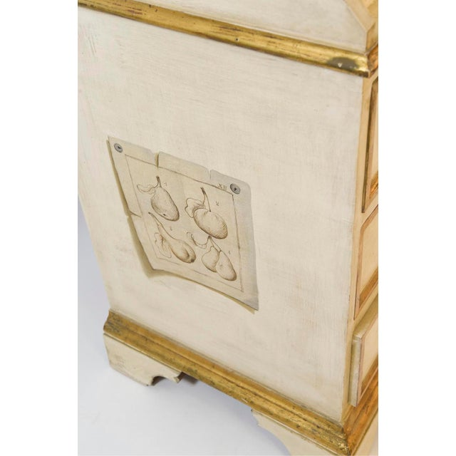 20th Century French Maison Jansen Hand Painted Secretary Desk For Sale - Image 10 of 12