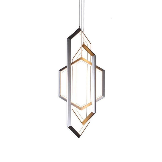Not Yet Made - Made To Order Orbis Vx46 Chandelier Light Fixture For Sale - Image 5 of 5