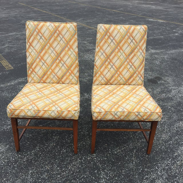 Thomasville Founders Parson Chairs - A Pair - Image 2 of 11