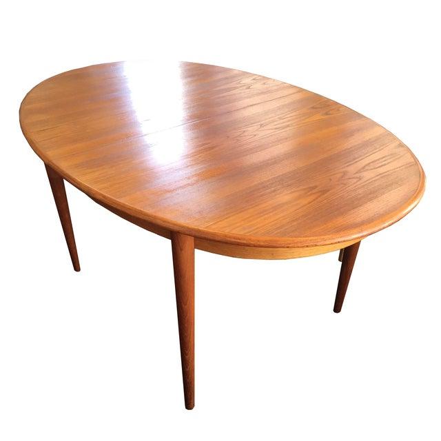 Danish Teak Dining Table - Image 1 of 9