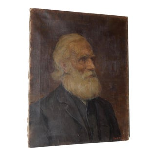 Charles Moss (1860-1901), 19th Century Oil Portrait C.1897 For Sale