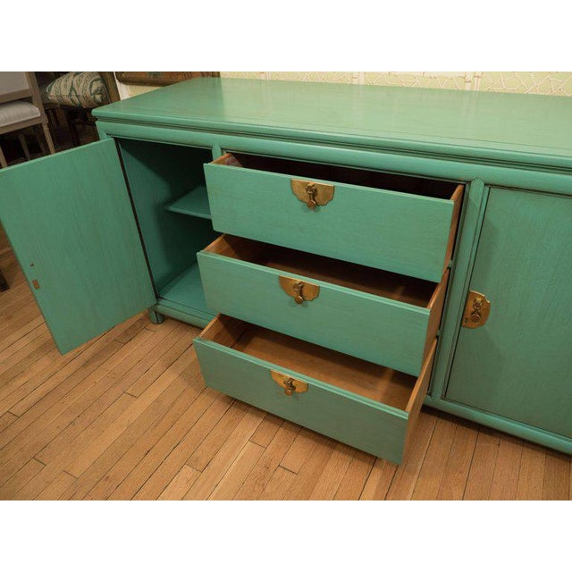 Thomasville Turquoise Chest - Image 10 of 11