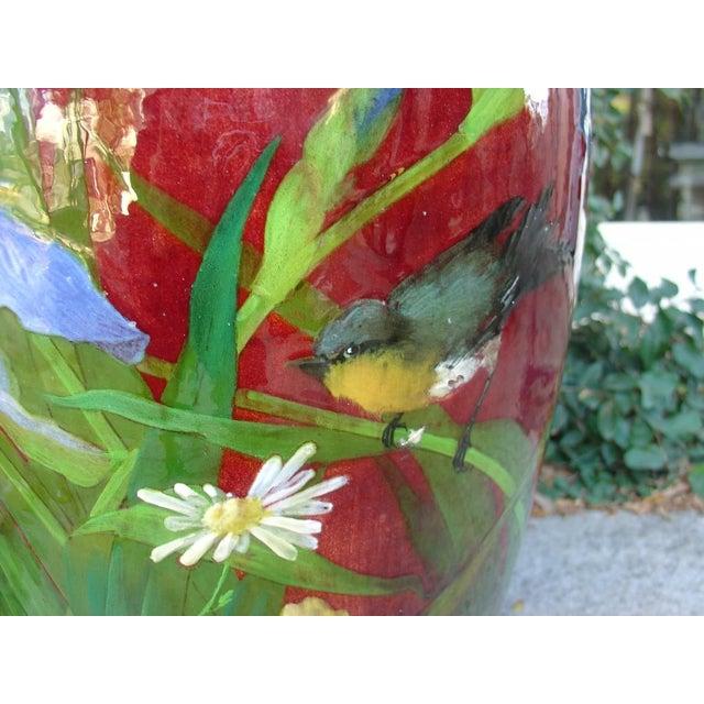 Antique Grande 'Bourg La Reine' Vase For Sale In Dallas - Image 6 of 9