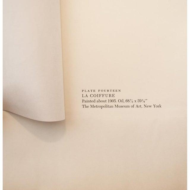 """Lithograph 1950s Picasso """"La Coiffure"""" Original Period Lithograph For Sale - Image 7 of 10"""