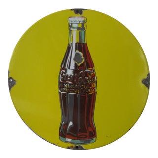 Antique Coca Cola Porcelain Sign