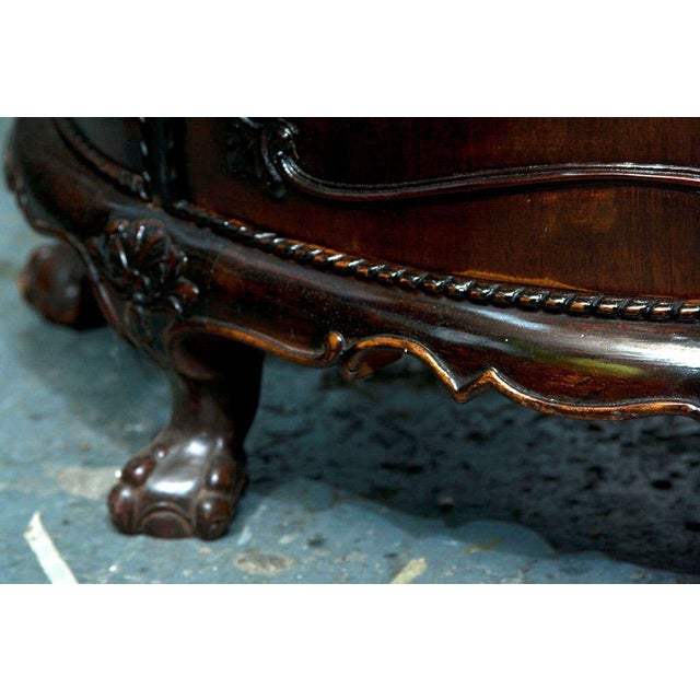 Gerogian Style Demi Lune Commode - Image 4 of 10