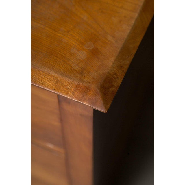 19th Century Cherrywood Biedermeier Chest of Drawers - Image 6 of 10