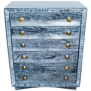 Paul Frankl for Brown Saltman Cerused Dresser For Sale
