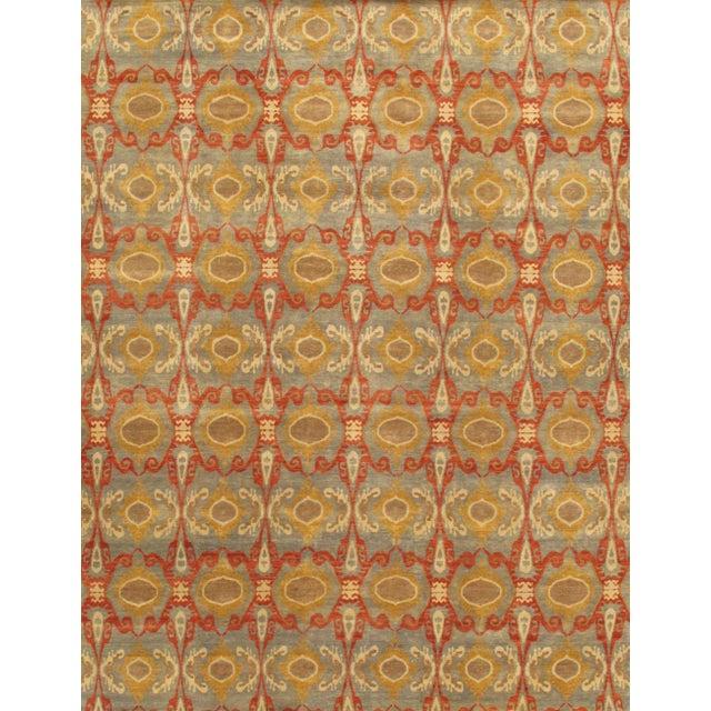 Pasargad Ikat Wool Rug - 10′ × 14′2″ - Image 1 of 2