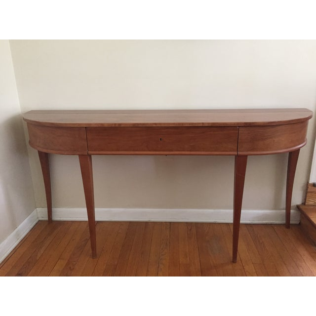 Exquisite and timeless Frascati Console Table handmade in the USA by high end designer Neirmann Weeks. The Frascati...