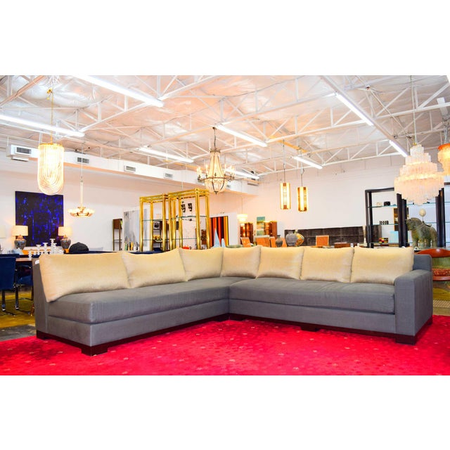 """2000 - 2009 Christian Liaigre """"Ocean"""" Sectional Sofa For Sale - Image 5 of 12"""