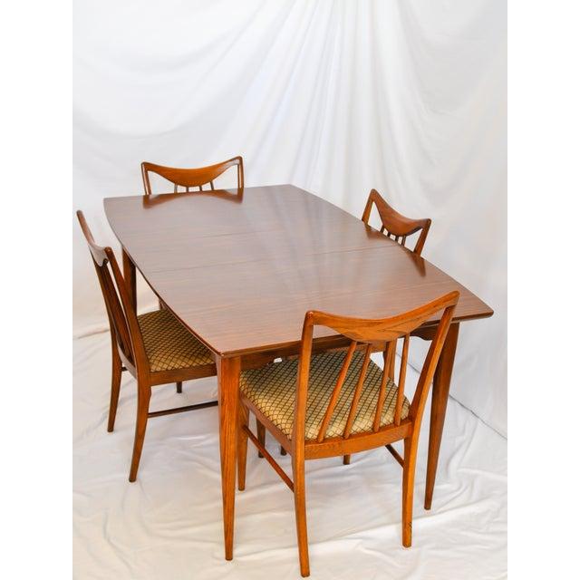 Keller Furniture Vintage Mid Century Modern Danish Dining Table Chairish