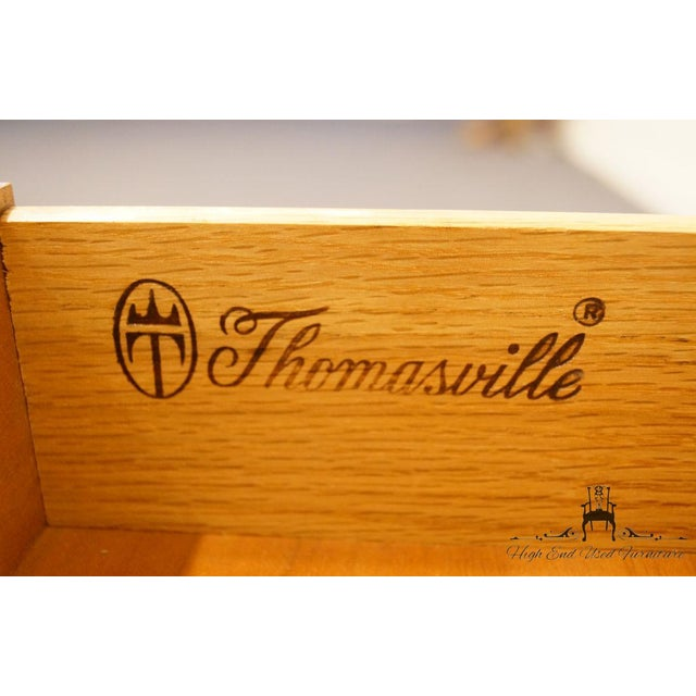 Thomasville Furniture Collectors Cherry Collection End Table For Sale - Image 11 of 13