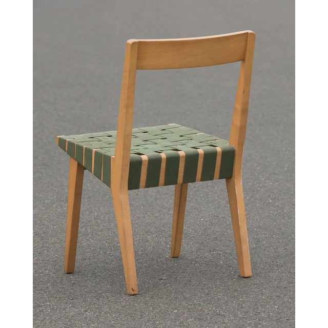 H. G. Knoll and Associates 1940s Mid-Century Modern Jens Risom for Knoll Side Chair For Sale - Image 4 of 10