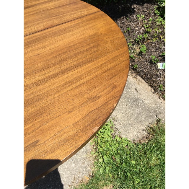 1960s Broyhill Emphasis Mid Century Dining Room Table For Sale - Image 5 of 12