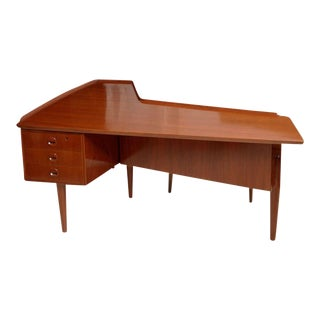 Italian Modern Desk Attributed to Claudio Salocchi for Sormani For Sale