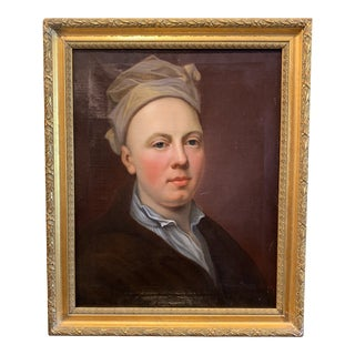 Late 18th/Early 19th Century Oil on Canvas Portrait Painting of a Nobleman For Sale