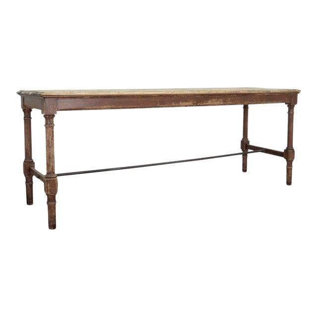 Antique Belgian Side Table For Sale