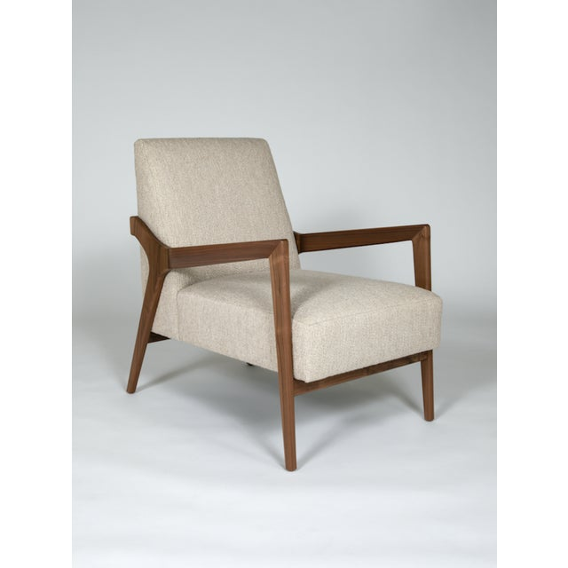 The Barney Club Chair by Studio Van Den Akker For Sale In New York - Image 6 of 6