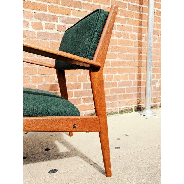 Vintage Mid Century Danish Modern Teak Lounge Chair For Sale - Image 10 of 11