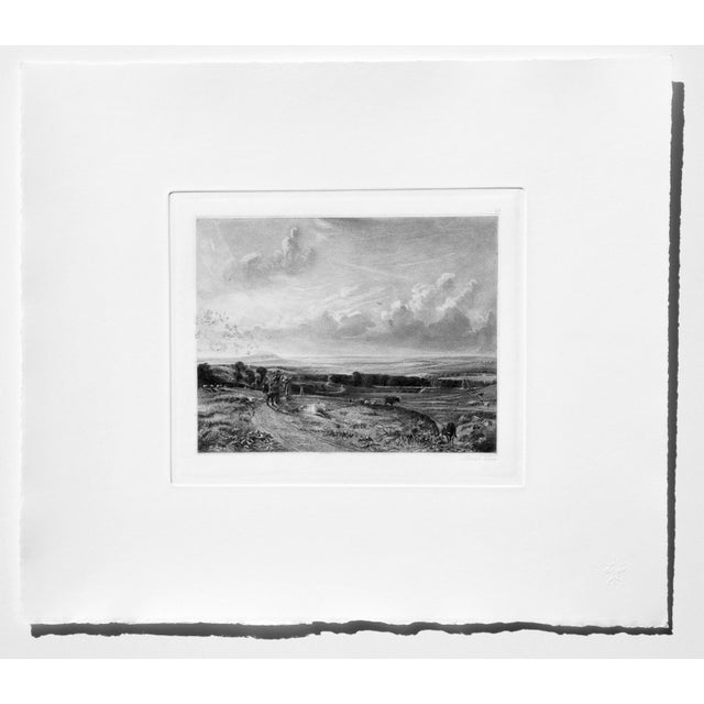 John Constable & David Lucas Mezzotint Collection From the Tate Gallery in London 1990's - Set of 16 For Sale - Image 11 of 14