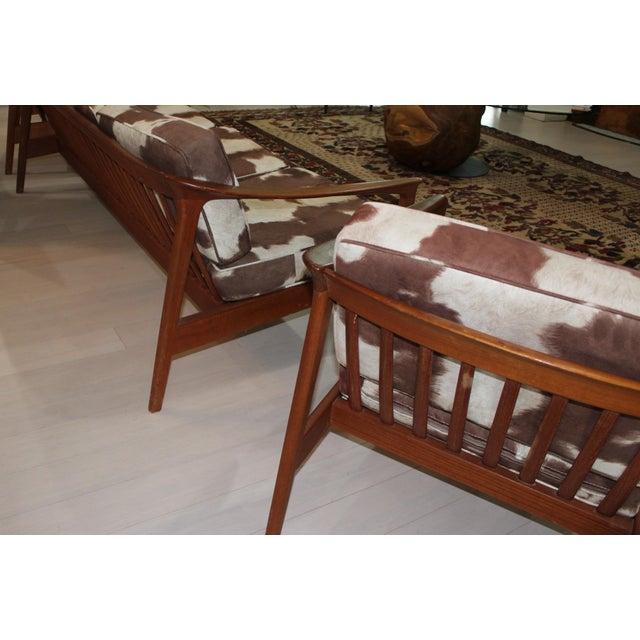 Bodafors Sweden Folke Ohlsson Sofa & Chairs - Set of 3 - Image 4 of 7