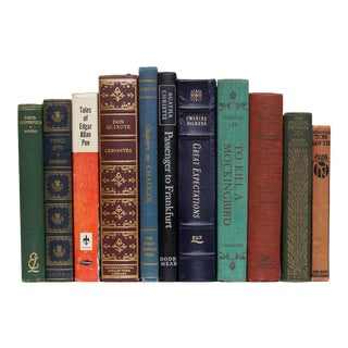 Vintage World Classics: Libraries by the Foot For Sale